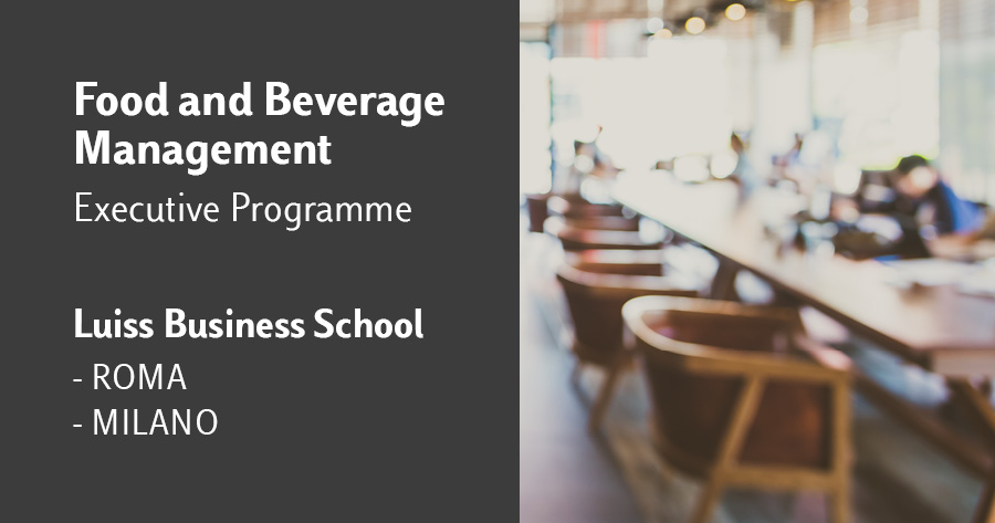 food and beverage luiss