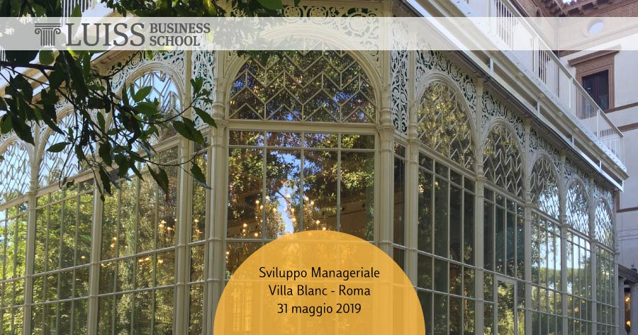 sviluppo manageriale luiss