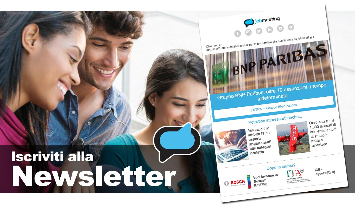 Header Newsletter sito