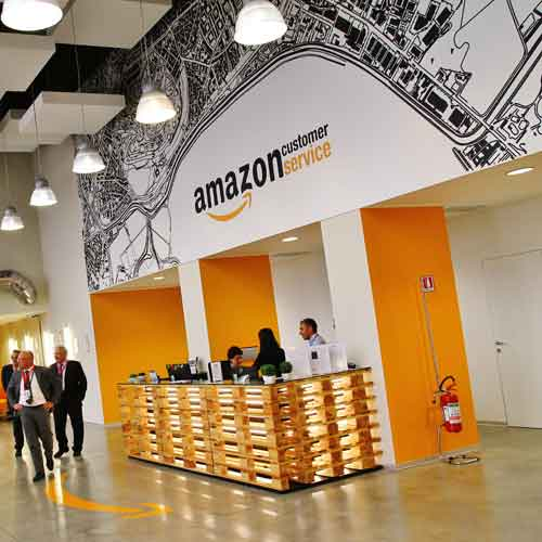 Amazon assume in Italia e all'Estero